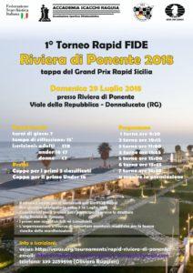 """Torneo Rapid Fide """"Riviera di Ponente"""""""