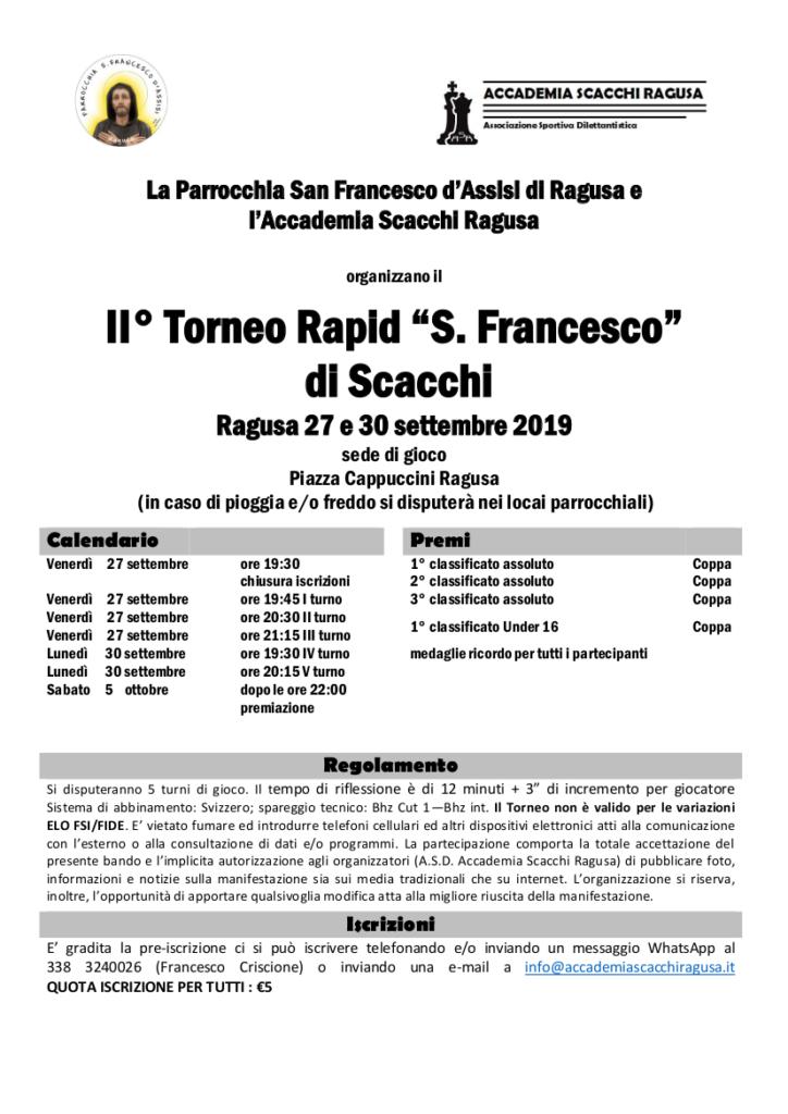 Fsi Scacchi Calendario.Accademia Scacchi Ragusa L Accademia Scacchi Ragusa E Un